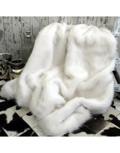 Faux Fur Throws, Deluxe Polar Faux Fur Throw , faux-fur-throws