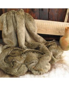 Mink Faux Fur Throw