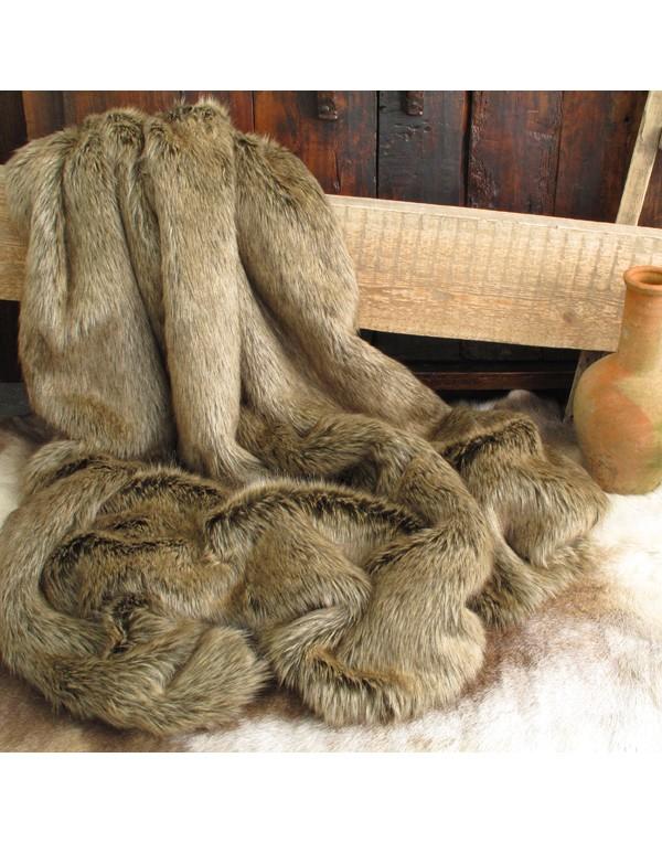 Faux Fur Throws, Mink Faux Fur Throw , faux-fur-throws