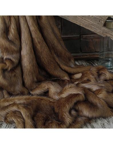 Faux Fur Throws, Red Panda Faux Fur Throw , faux-fur-throws
