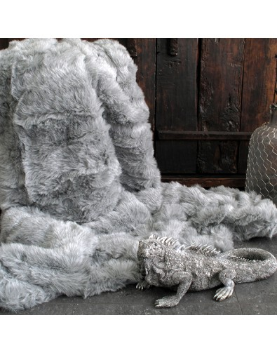 Faux Fur Throws, Ash Faux Fur Throw , faux-fur-throws