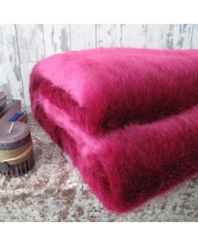 Faux Fur Throw Milano Magenta