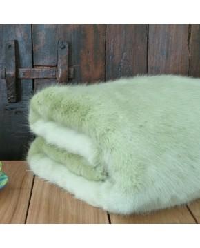 Faux Fur Throws, Faux Fur Throw Spring Willow , faux-fur-throws