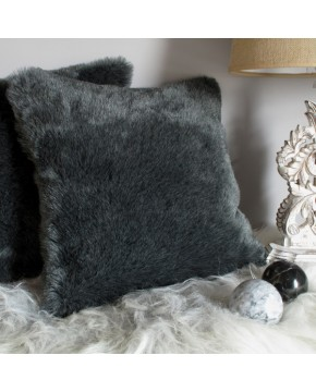 Badger Faux Fur Cushion