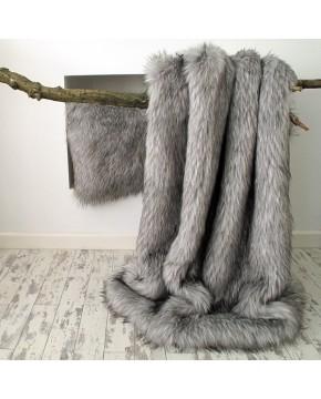 Faux Fur Throw Warwick Grey