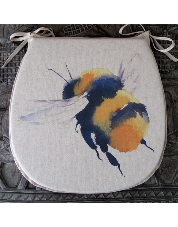 Queen Bee reversible classic D seat pads