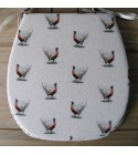 Small Pheasants reversible classic D seat pads