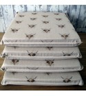 Small Cows Reversible Square Seat Pads