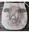 Sheep reversible classic D seat pads