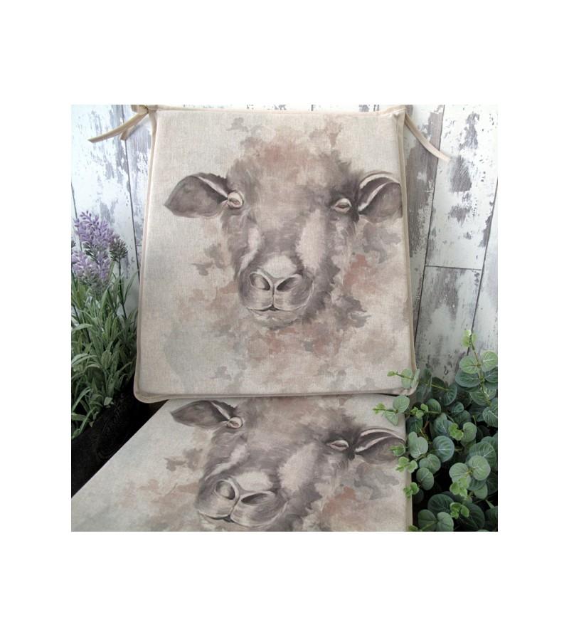 Sheep reversible tapered seat pads