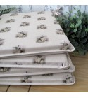 Small Rabbits reversible tapered seat pads