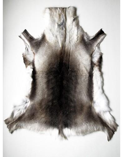 Reindeer Skin Rugs, Large Size Reindeer Skin Rug 0046L , faux-fur-throws