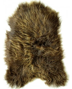 Rusty Brown Icelandic Sheepskin Rug 0107