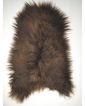 Sheepskin Rugs, Rusty Brown Icelandic Sheepskin Rug 0127 , faux-fur-throws
