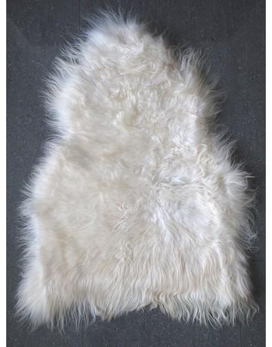 Sheepskin Rugs, Creamy White Icelandic Sheepskin Rug 0140 , faux-fur-throws