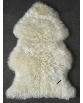 Sheepskin Rugs, Natural Creamy White Sheepskin Rug 0130 , faux-fur-throws