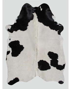 Cowhide Rugs, Cream Black Cowhide Rug CH0007 , faux-fur-throws