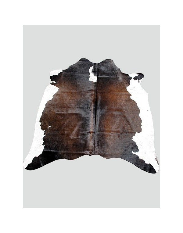 Cowhide Rugs, Dark Brown & White Cowhide Rug CH0011 , faux-fur-throws