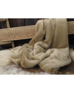 Desert Fox Faux Fur Throw