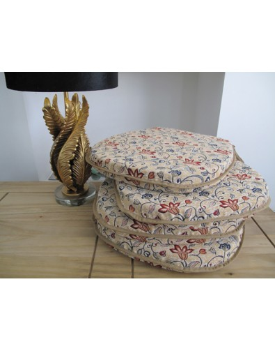Seat Pads & Cushions, Canterbury Classic D Rounded Seat Pads , faux-fur-throws