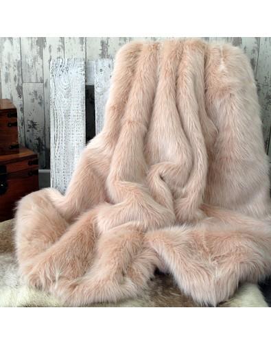 Faux Fur Throws, Candyfloss Faux Fur Throw , faux-fur-throws