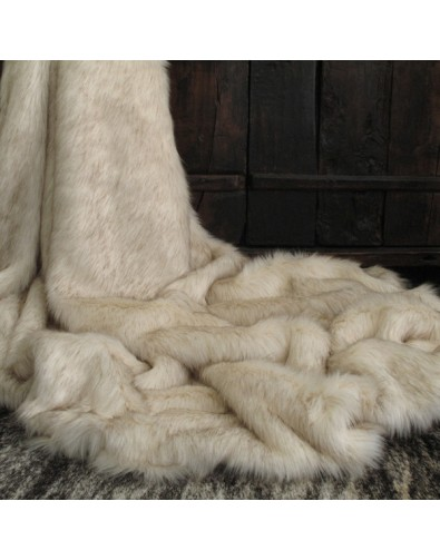 Faux Fur Throws, Saharan Fox Faux Fur Throw , faux-fur-throws