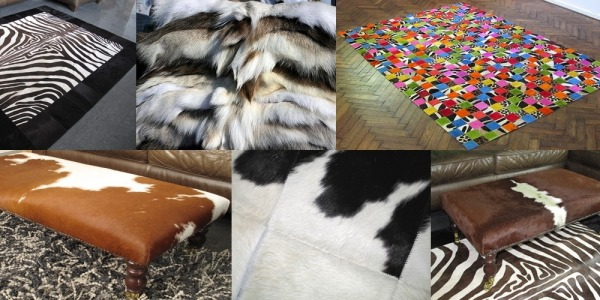 Cow Hide Rugs, Patchwork Leather Rugs & Sheep Skin Rugs